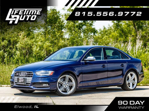 2013 Audi S4 for sale at Lifetime Auto in Elwood IL