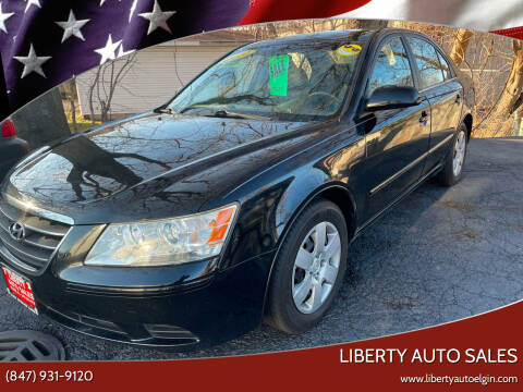 2010 Hyundai Sonata for sale at Liberty Auto Sales in Elgin IL