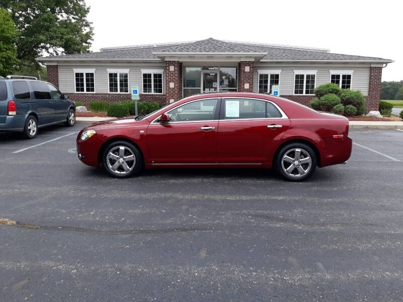 2008 Chevrolet Malibu for sale at Pierce Automotive, Inc. in Antwerp OH