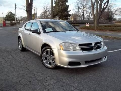 2012 Dodge Avenger for sale at CORTEZ AUTO SALES INC in Marietta GA