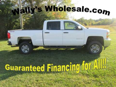 2015 Chevrolet Silverado 2500HD for sale at Wally's Wholesale in Manakin Sabot VA