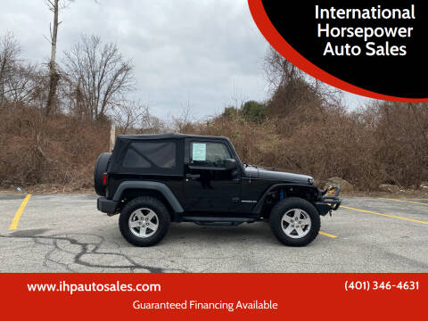 2010 Jeep Wrangler for sale at International Horsepower Auto Sales in Warwick RI