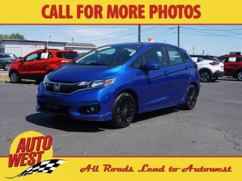 2018 Honda Fit for sale at Autowest of Plainwell in Plainwell MI