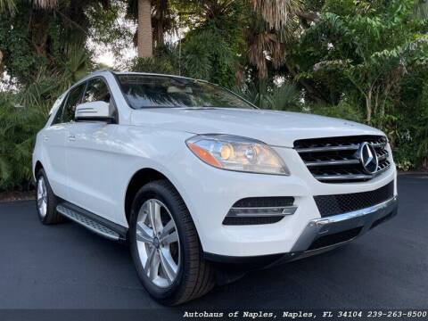 2015 Mercedes-Benz M-Class for sale at Autohaus of Naples in Naples FL
