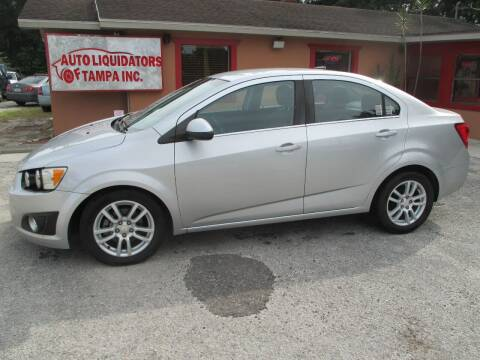 2012 Chevrolet Sonic for sale at Auto Liquidators of Tampa in Tampa FL