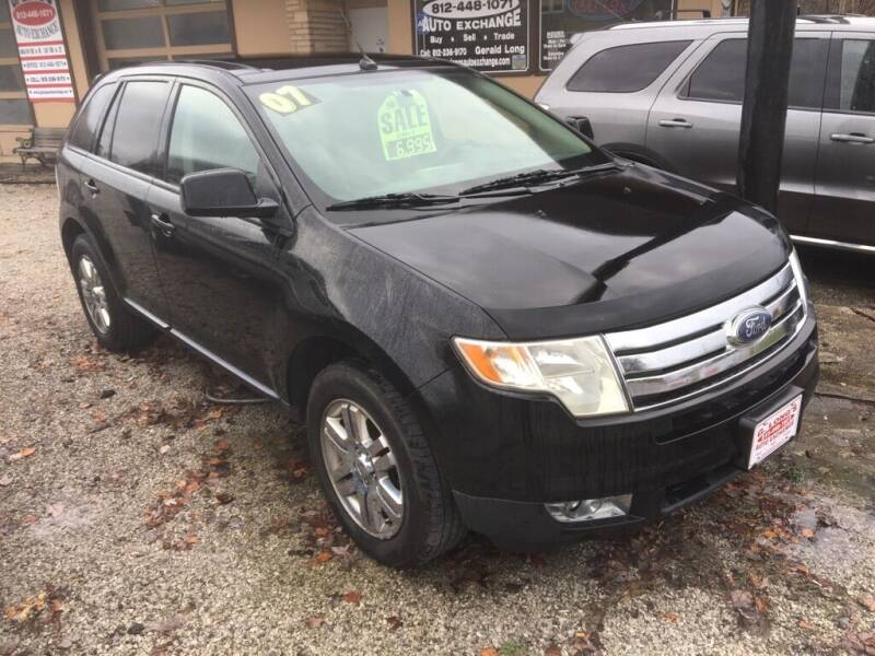 2007 Ford Edge for sale at G LONG'S AUTO EXCHANGE in Brazil IN