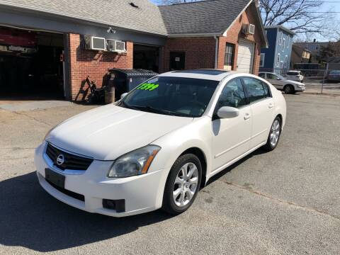 2007 Nissan Maxima for sale at Emory Street Auto Sales and Service in Attleboro MA