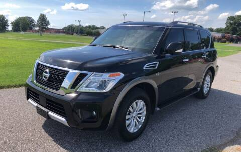 2017 Nissan Armada for sale at Sartins Auto Sales in Dyersburg TN