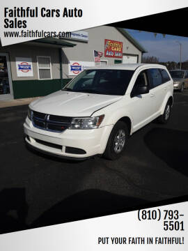 2012 Dodge Journey for sale at Faithful Cars Auto Sales in North Branch MI