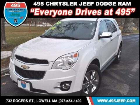 2013 Chevrolet Equinox for sale at 495 Chrysler Jeep Dodge Ram in Lowell MA