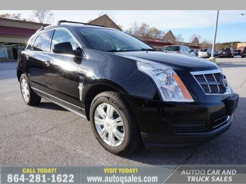 2011 Cadillac SRX for sale at Auto Q Car and Truck Sales in Mauldin SC