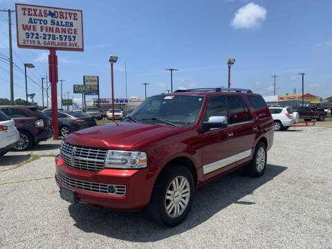 2013 Lincoln Navigator for sale at Texas Drive LLC in Garland TX