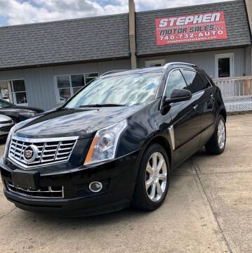 2013 Cadillac SRX for sale at Stephen Motor Sales LLC in Caldwell OH