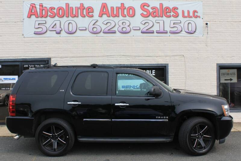 2013 Chevrolet Tahoe for sale at Absolute Auto Sales in Fredericksburg VA