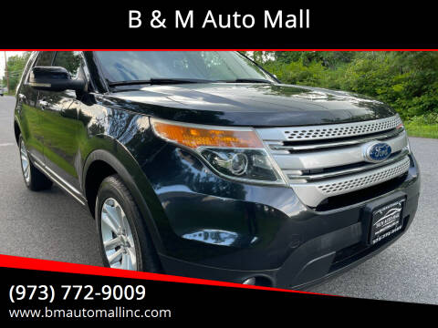 2011 Ford Explorer for sale at B & M Auto Mall in Clifton NJ