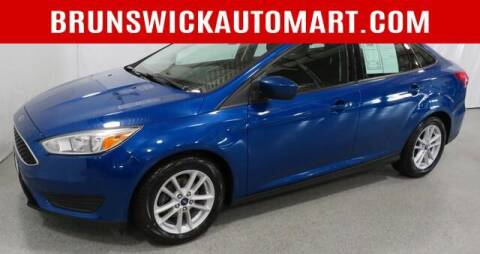 2018 Ford Focus for sale at Brunswick Auto Mart in Brunswick OH