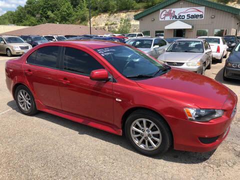2012 Mitsubishi Lancer for sale at Gilly's Auto Sales in Rochester MN