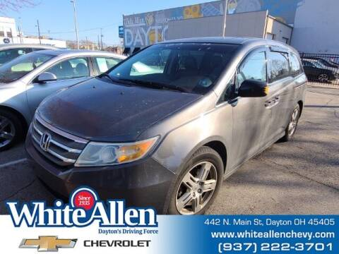 2011 Honda Odyssey for sale at WHITE-ALLEN CHEVROLET in Dayton OH