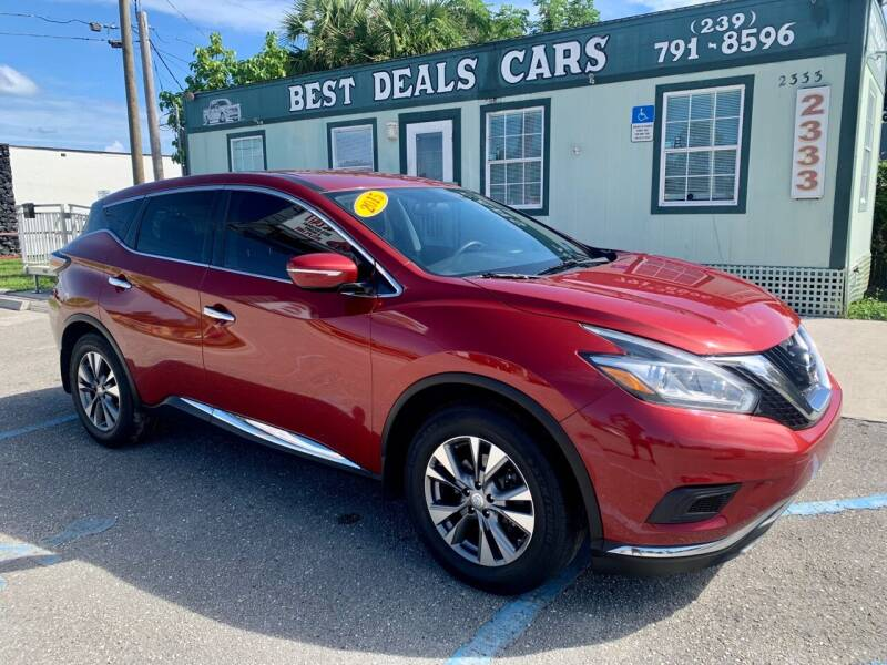 2015 Nissan Murano for sale at Best Deals Cars Inc in Fort Myers FL