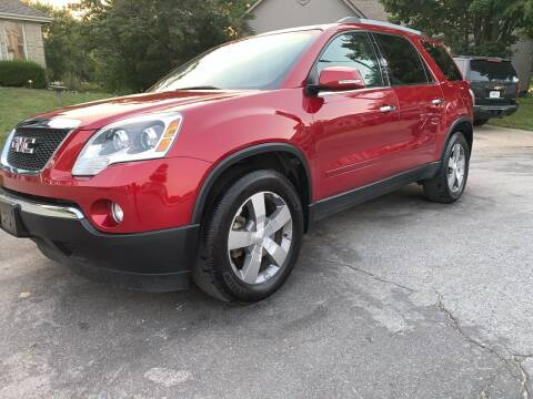 2012 GMC Acadia for sale at Nice Cars in Pleasant Hill MO