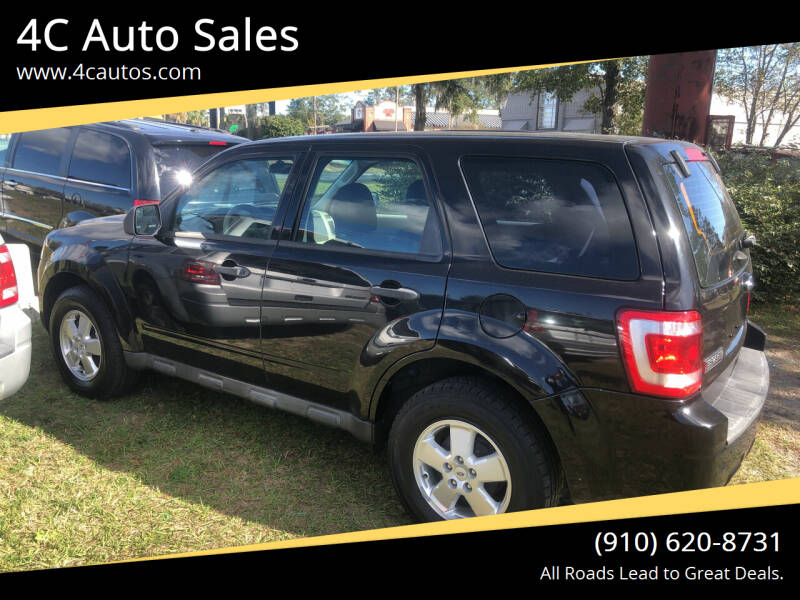 2011 Ford Escape for sale at 4C Auto Sales in Wilmington NC