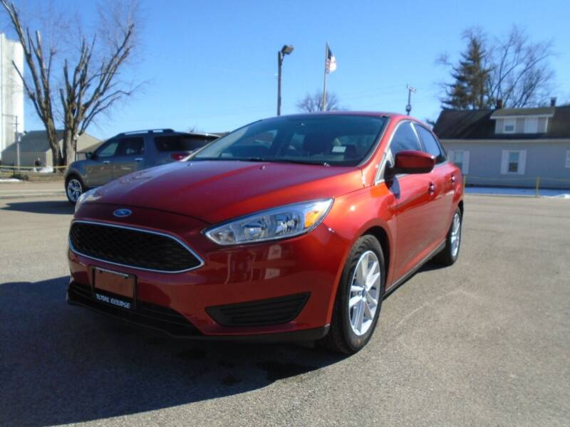 2018 Ford Focus for sale at Total Eclipse Auto Sales & Service in Red Bud IL