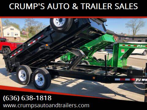 2020 PJ  Dump trailer for sale at CRUMP'S AUTO & TRAILER SALES in Crystal City MO
