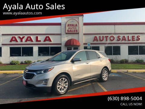 2018 Chevrolet Equinox for sale at Ayala Auto Sales in Aurora IL