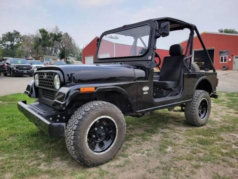 2020 Mahindra Roxor for sale at A & B Auto Sales in Ekalaka MT