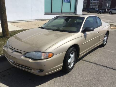 2000 Chevrolet Monte Carlo for sale at Steve's Auto Sales in Madison WI