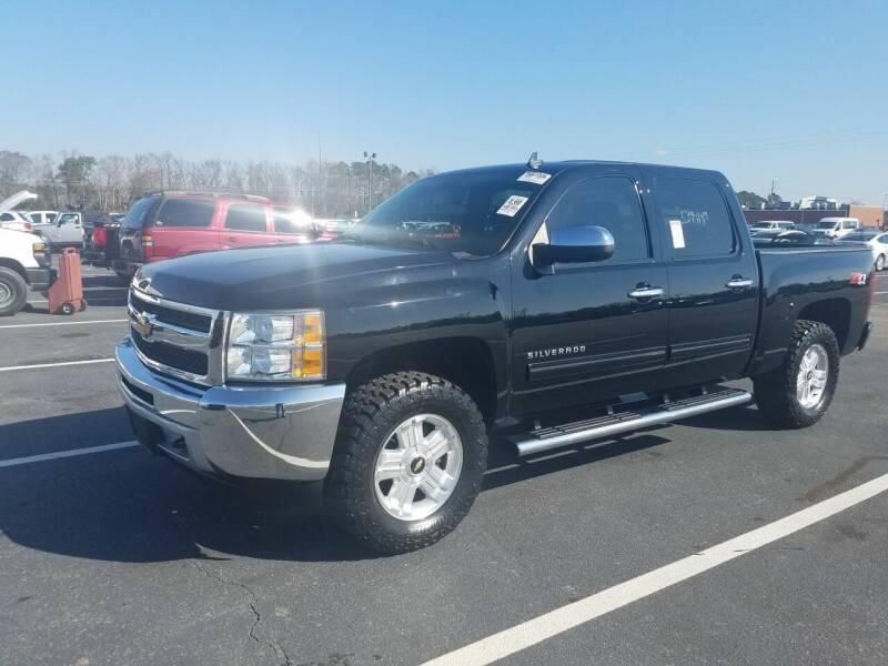 2013 Chevrolet Silverado 1500 for sale at Bundy Auto Sales in Sumter SC