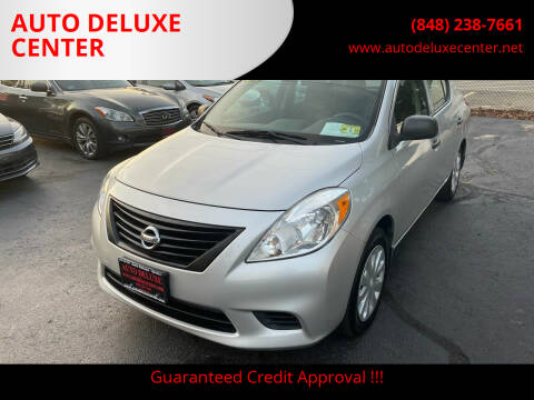 2014 Nissan Versa for sale at AUTO DELUXE CENTER in Toms River NJ