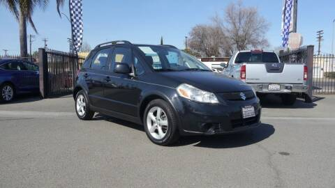 2009 Suzuki SX4 Crossover for sale at Westland Auto Sales in Fresno CA