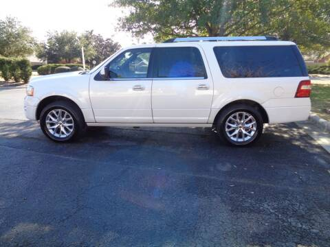 2015 Ford Expedition EL for sale at BALKCUM AUTO INC in Wilmington NC