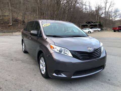 2011 Toyota Sienna for sale at Worldwide Auto Group LLC in Monroeville PA