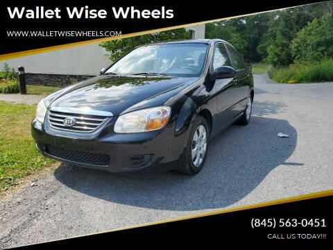 2008 Kia Spectra for sale at Wallet Wise Wheels in Montgomery NY