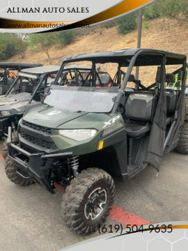 2020 Polaris Ranger Crew XP1000 Premium for sale at ALLMAN AUTO SALES in San Diego CA