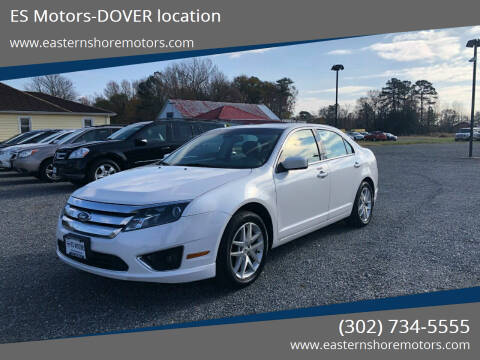 2011 Ford Fusion for sale at ES Motors-DAGSBORO location - Dover in Dover DE