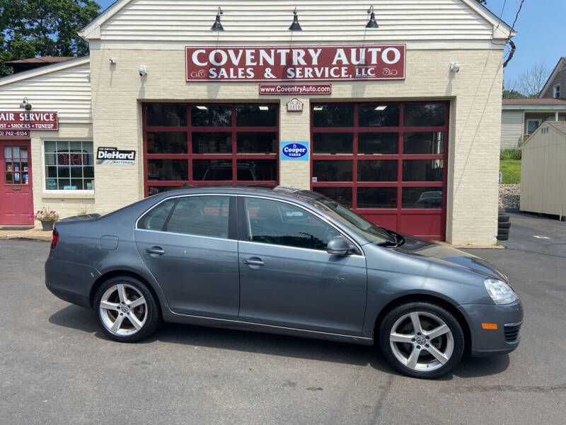 2010 Volkswagen Jetta for sale at COVENTRY AUTO SALES in Coventry CT