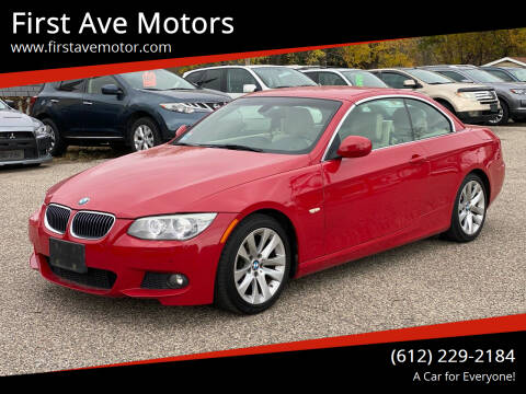 2013 BMW 3 Series for sale at First Ave Motors in Shakopee MN