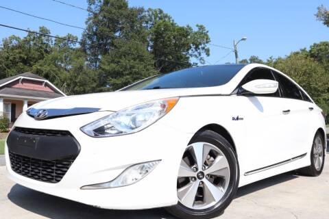 2012 Hyundai Sonata Hybrid for sale at Cobb Luxury Cars in Marietta GA
