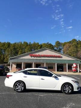 2020 Nissan Altima for sale at Poole Automotive in Laurinburg NC