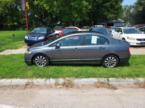 2009 Honda Civic for sale at D & D Auto Sales in Topeka KS