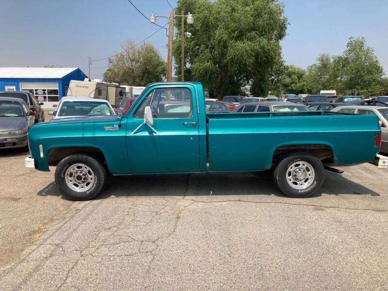 1979 Chevrolet C/K 20 Series for sale at AFFORDABLY PRICED CARS LLC in Mountain Home ID