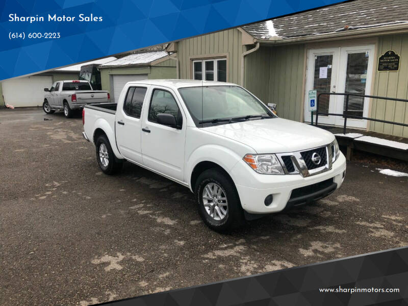 2015 Nissan Frontier for sale at Sharpin Motor Sales in Columbus OH