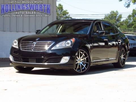 2015 Hyundai Equus for sale at Hollingsworth Auto Sales in Raleigh NC