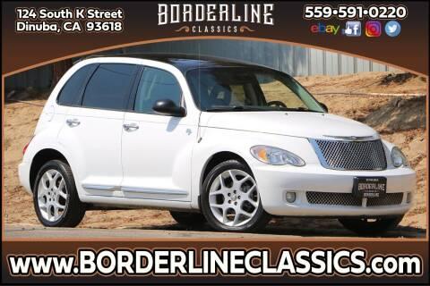 2009 Chrysler PT Cruiser for sale at Borderline Classics in Dinuba CA