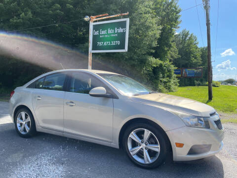 2012 Chevrolet Cruze for sale at East Coast Auto Brokers in Chesapeake VA