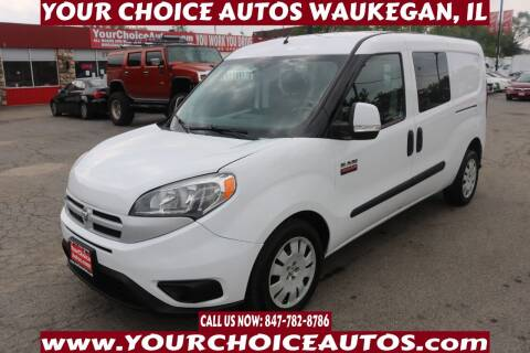 2016 RAM ProMaster City Cargo for sale at Your Choice Autos - Waukegan in Waukegan IL