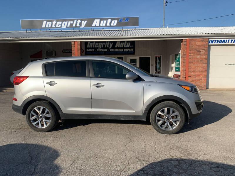 2016 Kia Sportage for sale at Integrity Auto LLC in Sheldon VT